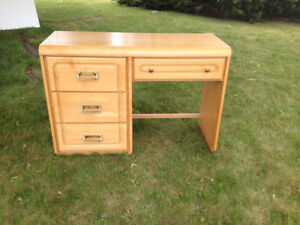 Child's desk-solid maple, made in Canada