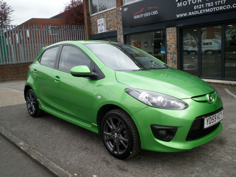 2009 mazda mazda2 1 3 tamura 5dr 59 reg petrol green in. Black Bedroom Furniture Sets. Home Design Ideas