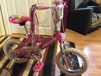 """GIRLS...Supercycle Lil'Dreamers  bicycle  12"""" tires single speed"""