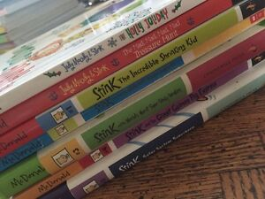 Stink book series and 2 Judy Moody and Stink books