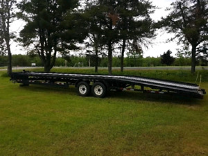 2008 Anderson Trailer low bed Fits 2 Vehicles