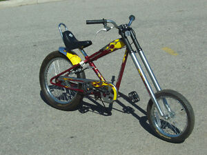 ALMOST NEW & BARELY USED 6 MONTHS HARLEY DAVIDSON CHOPPER BIKE!