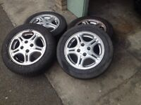 Honda Civic 14 inch wheels 4x100