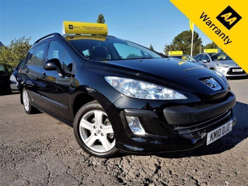 2010 PEUGEOT 308 1.6 SW S HDI 5D 89 BHP! P/X WELCOME! 2 OWNERS! 45K MILES ONLY!