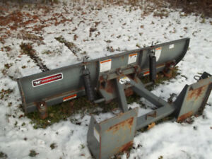 6' Worksaver Snowplow with quick attach