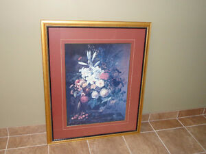 Framed Floral print Windsor Region Ontario image 1