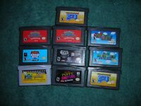 FOR SALE  10  ADVANCE GAMES.