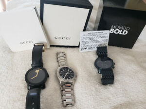 Gucci and movado watch for sale!