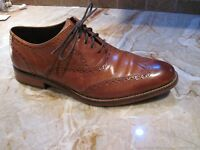 Cole Haan Wingtip - British Tan Colour - Size 9.5 New Condition