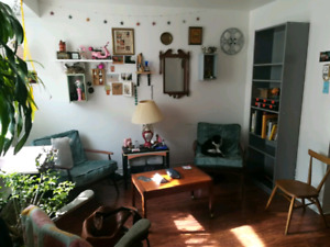1 bedroom 3 1/2 with yard in Little Italy, Mile End