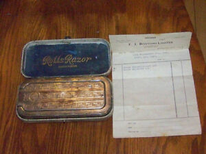 ROLLS RAZOR IN ORIGINAL CASE