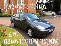 Ford Focus 1.6 53 reg only 2 owners