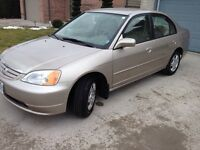2001 Honda Civic ( SAFETY & E-TESTED ) low 160km