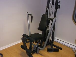 exerciseur multi station complet banc exercice musculation