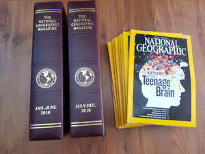 National Geographic books 2010 & 2011