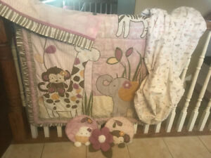 "Cocalo ""Jacana"" Baby Bedding Set! Excellent Condition!"