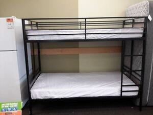 *** USED *** ASHLEY METAL T/T GREY BUNKBED   S/N:51152792   #STORE553