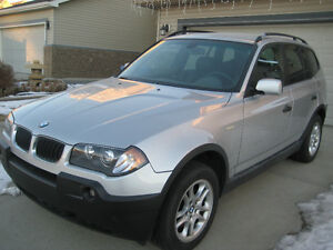 2004 BMW X3 LOW KM ,EXTRA CLEAN,COMES WITH ALL SERVICE RECORD