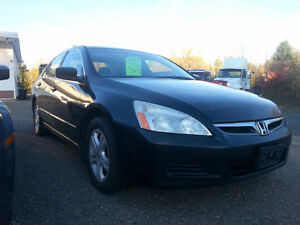 2007 HONDA ACCORD SE LOADED ONLY 156000KM PRICE $ 4900