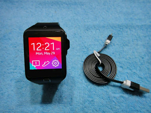 $115Firm Amazing SmartWatch Samsung Gear2 MintCond+charger+cable