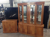 BUFFET SERVER AND HUTCH