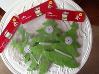 🎄4 packs of Christmas tree garland 12 meters Brand new