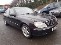Mercedes S Class S 320 CDI (black) 2002