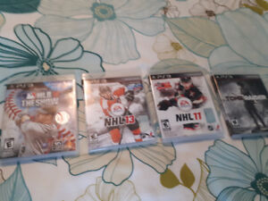 Four Playstation 3 games for sale