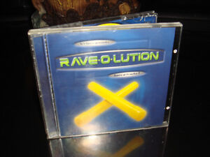 CD-RAVE RAVE-O-LUTION-MUSIQUE/MUSIC (TECHNO-HOUSE)
