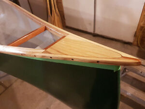 Canoe repairs custom wood work