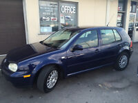 2004 Vw Golf Tdi,242k,50/mpg,cold air,full power,sunroof ! Markham / York Region Toronto (GTA) Preview