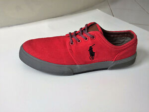 POLO RALPH LAUREN Vaughn Sneakers - Red