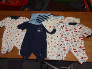 Twin Matching Sets 0-3 Months Boy Sleepers