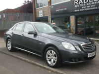 2009 Mercedes-Benz E250 2.1CDI Blue F Auto CDI SE 4DR 59 REG Diesel Grey