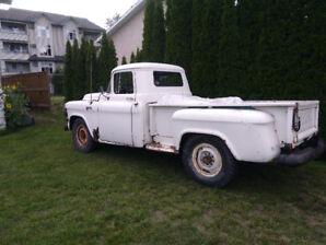 1956  GMC  3/4 ton  rare