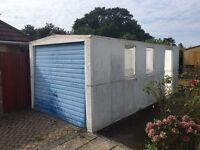 Concrete Sectional Garage