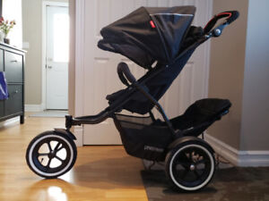 Phil and Ted's Sport stroller, double