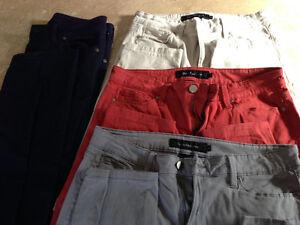4 pantalons excellente condition!