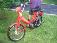 Mobilette Moped Vélomoteur Moto Cyclomoteur Honda PA50 Hobit