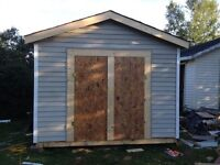 Large newly built shed for sale