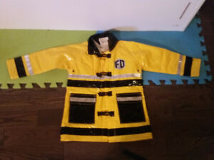 Halloween costume - Firefighter jacket - 4T
