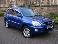 DIESEL 4X4!! 2007 KIA SPORTAGE 2.0 CRDi VGT XS 5dr, 1 YEAR MOT, FULL LEATHER,