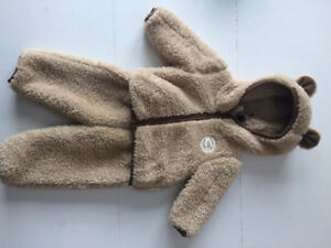 The North Face snow suit 0-3M