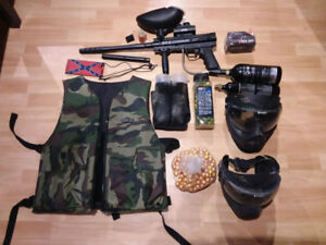 BT-4 Combat paintball marker and gear for sale