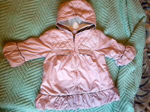 Like new AUTHENTIC BURBERRY baby girl jacket 18-24 months