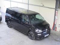 Volkswagen Transporter Sportline LWB KOMBI MANUAL 180PS 2.0TDI BLACK *NOW S0LD*