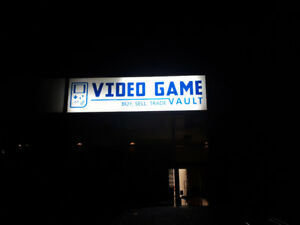 Video game vault grand opening Barrie