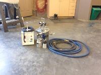Lemmer HVLP spray system