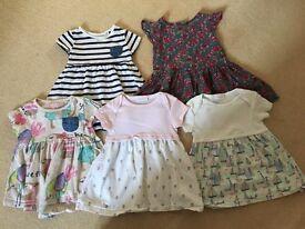 Next dresses 6-9 months
