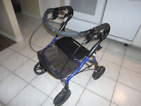 Piper Mini Walker with Seat & Basket